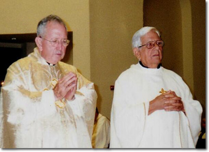 Misa Solemne en celebración de las Bodas de Oro en la iglesia San Juan Bosco, Miami